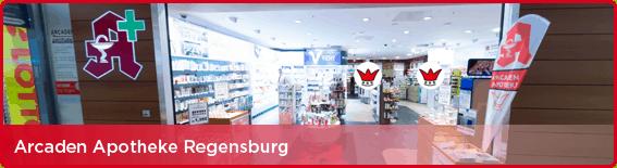 360° Panorama-Tour Acrcaden Apotheke Regensburg