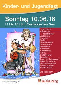 Kinder- und Jugendfest @ Festwiese am Neutraublinger See   Neutraubling   Bayern   Deutschland