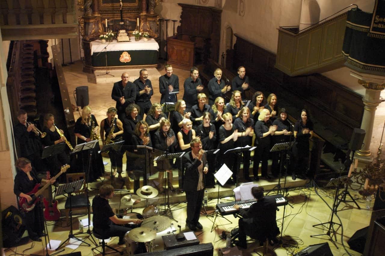 Benefizkonzert des Regensburger Gospelensembles Deliverance @ Neupfarrkirche   Regensburg   Bayern   Deutschland
